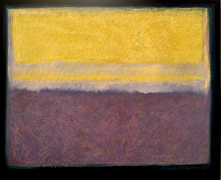 Study In Yellow and Violet by Robert Diesso