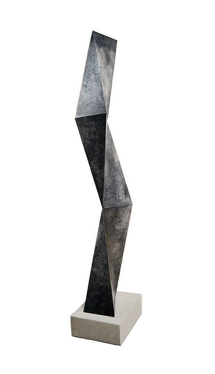 Monumental Abstract Steel Sculpture by Scott Donadio