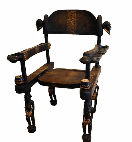 Ceremonial Chair of the Senufo People, West Africa, ca 1900s