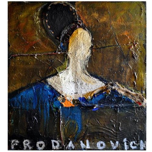 Contessa In Blue by Vladimir Prodanovich