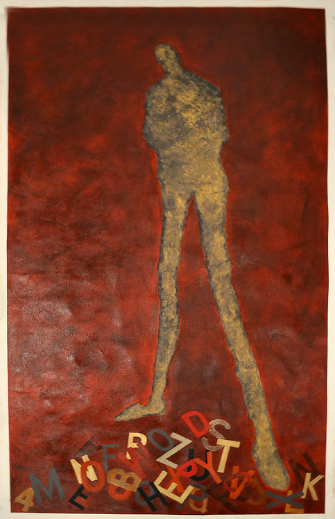 Abstract Figurative by Artist Jane Evans
