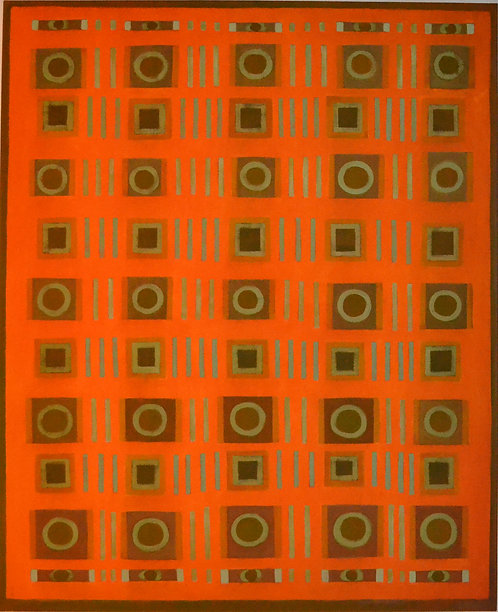 Collection On Orange by Tina Bluefield