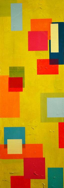 """""""COLOR EXPLOSION"""" Color Block Series by Peri Gutierrez"""