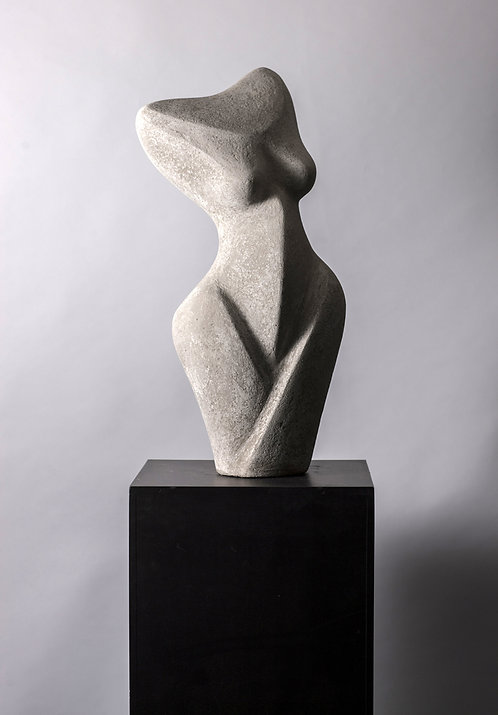 Abstract Standing FemaleTorso by Birgit Piskor