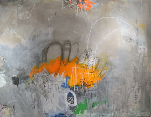 Untitled Abstract by Wyman Lancaster