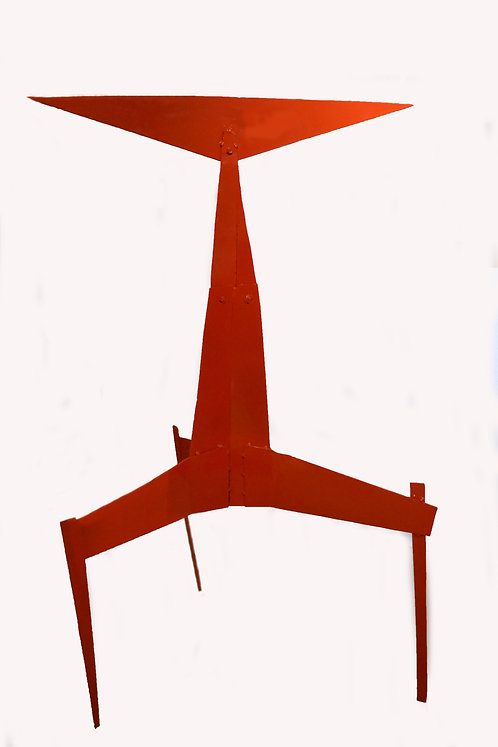 Abstract Steel Sculpture by Moira Fain