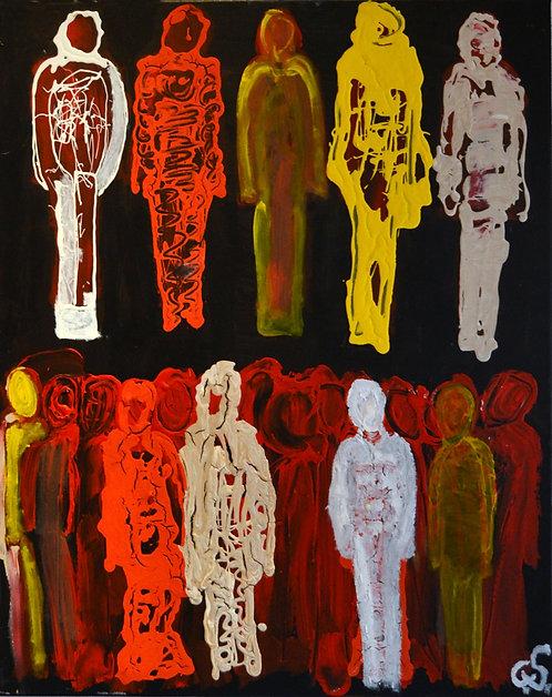 """VIBRATIONAL HARMONICS"" by Christopher Shoemaker (b. 1969)"