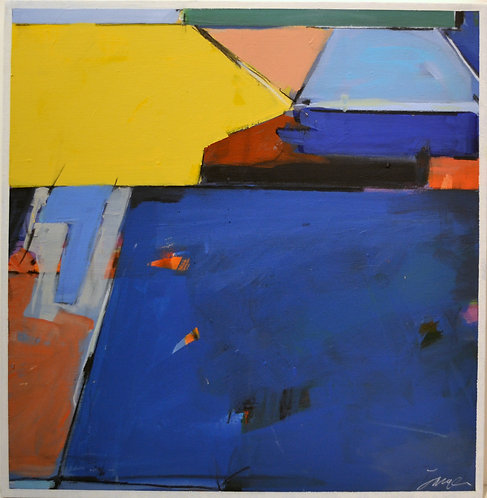 Color Scape No. 61 by Russell Jacques