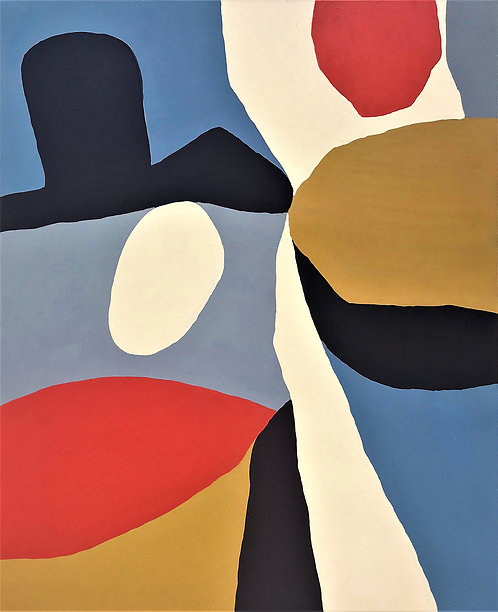 """Hombre"" by John Luckett (b. 1951)"