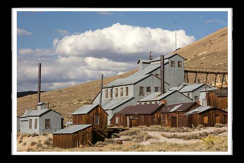 """""""Standard Consolidated Co. Stamp Mill Bodie Historical Park"""" by Gregg Felsen"""