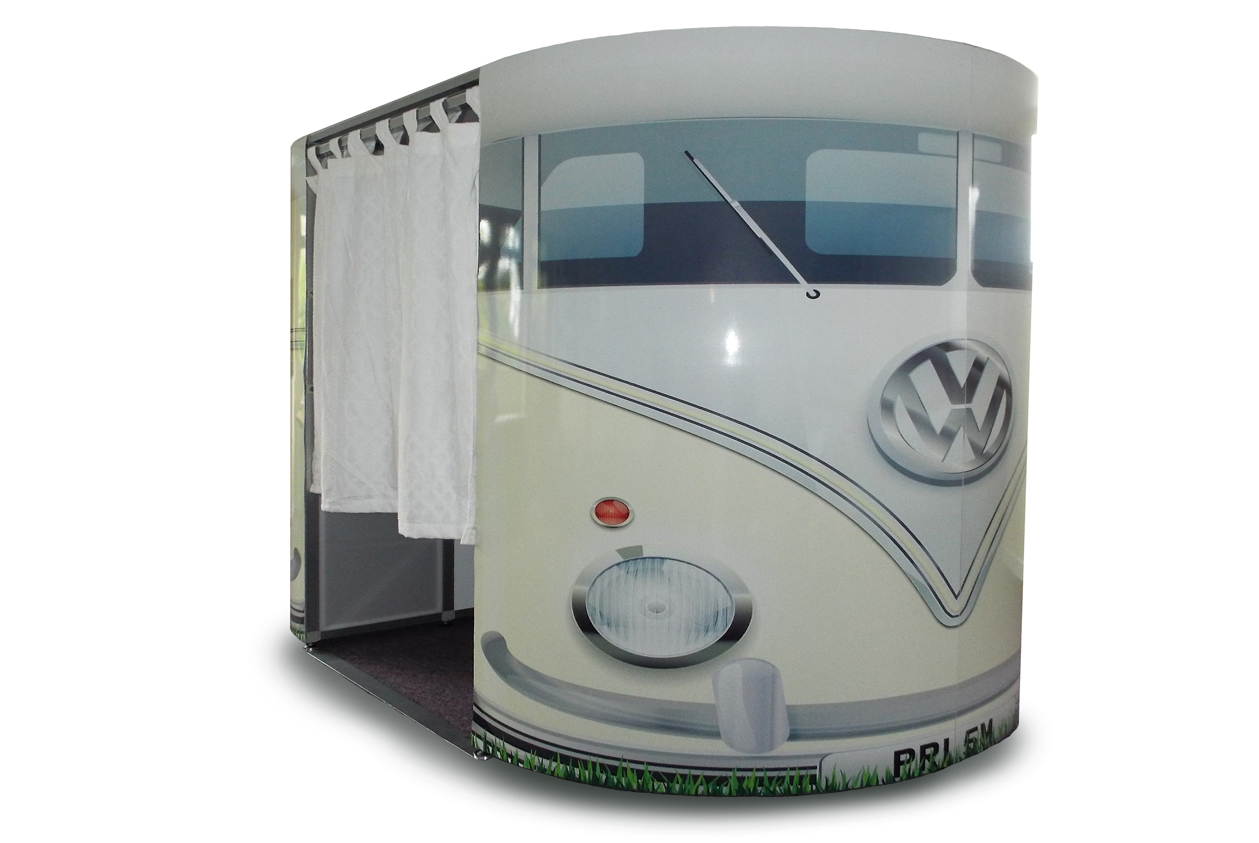 White VW Camper Photobooths