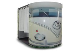White VW Camper Photobooths
