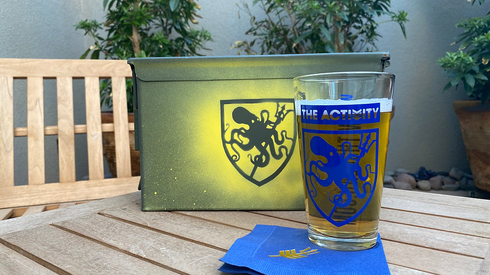 The Shield Pint Glass