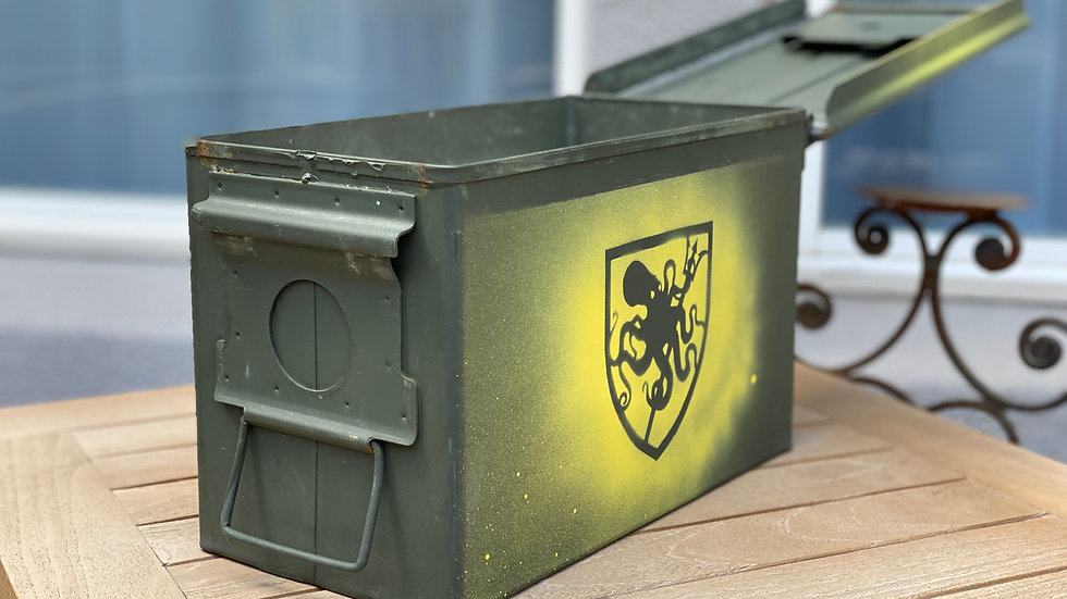 Mil-Spec .50 Cal M2A1 Green Ammo Can