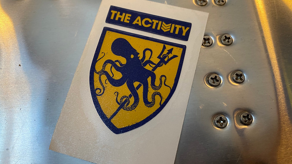 The Activity Logo Appliqué - Small