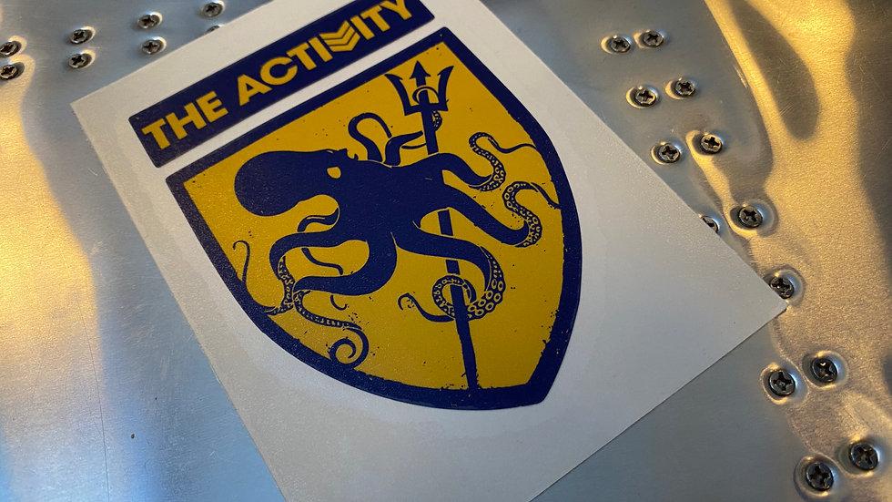The Activity Logo Appliqué - Large