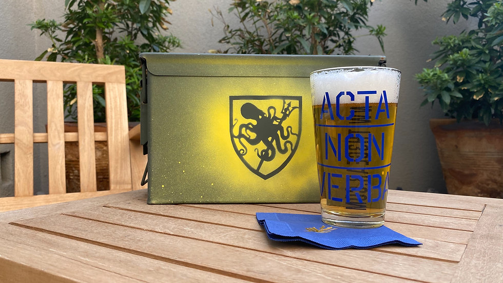 Acta Non Verba Pint Glass