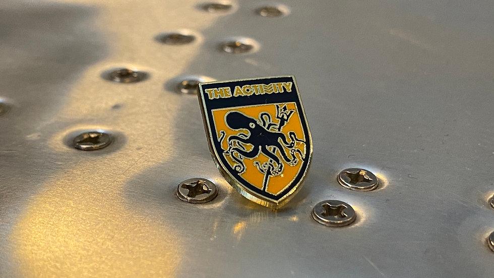 Shield Lapel Pin