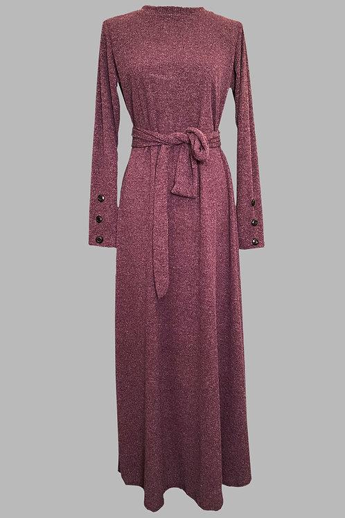 Knitted long dress