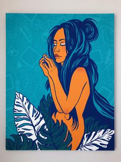 Earth Goddess (In Blue)