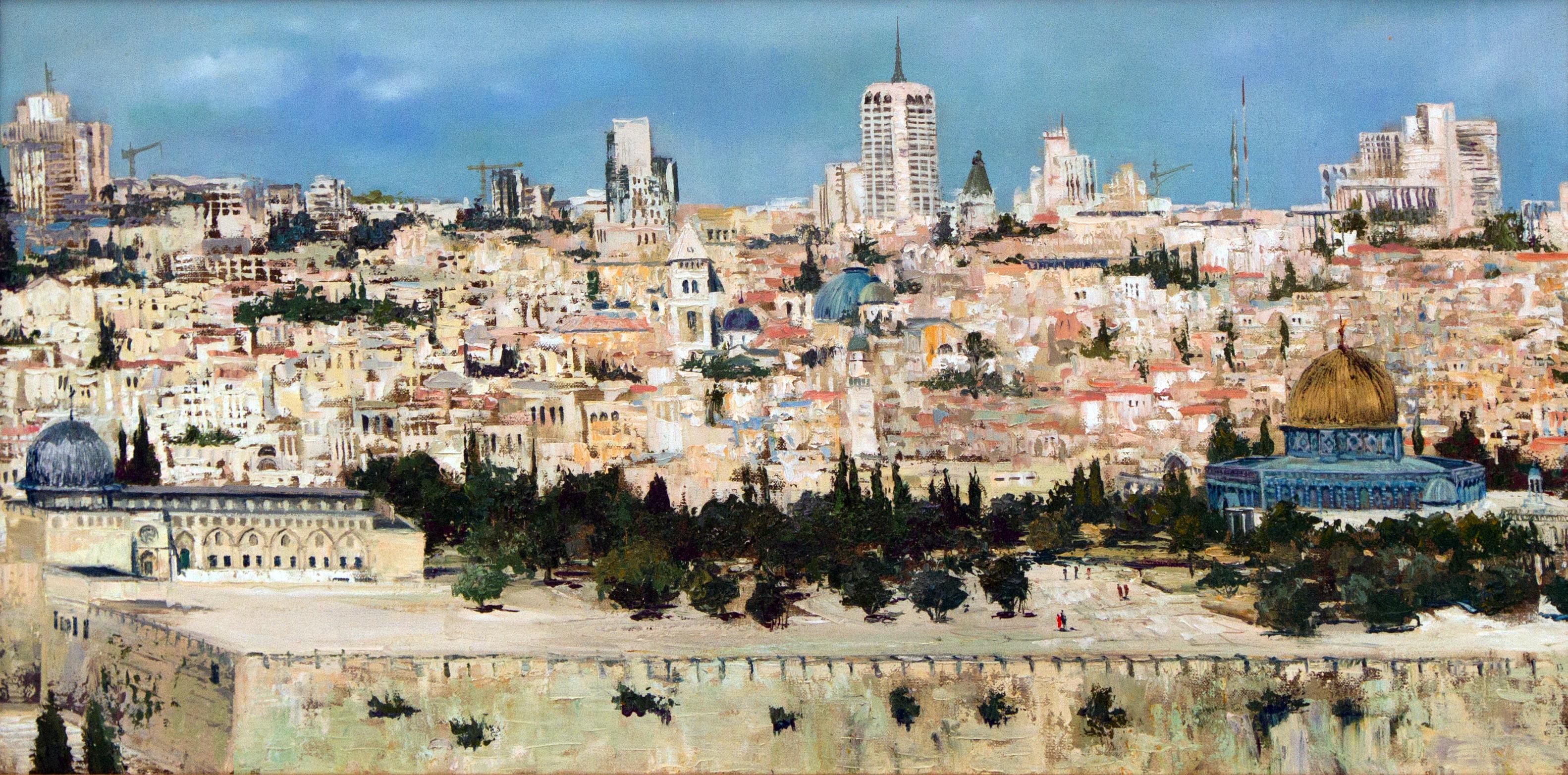 Вид на Иерусалим 50 х 100 - 25 000 ₽