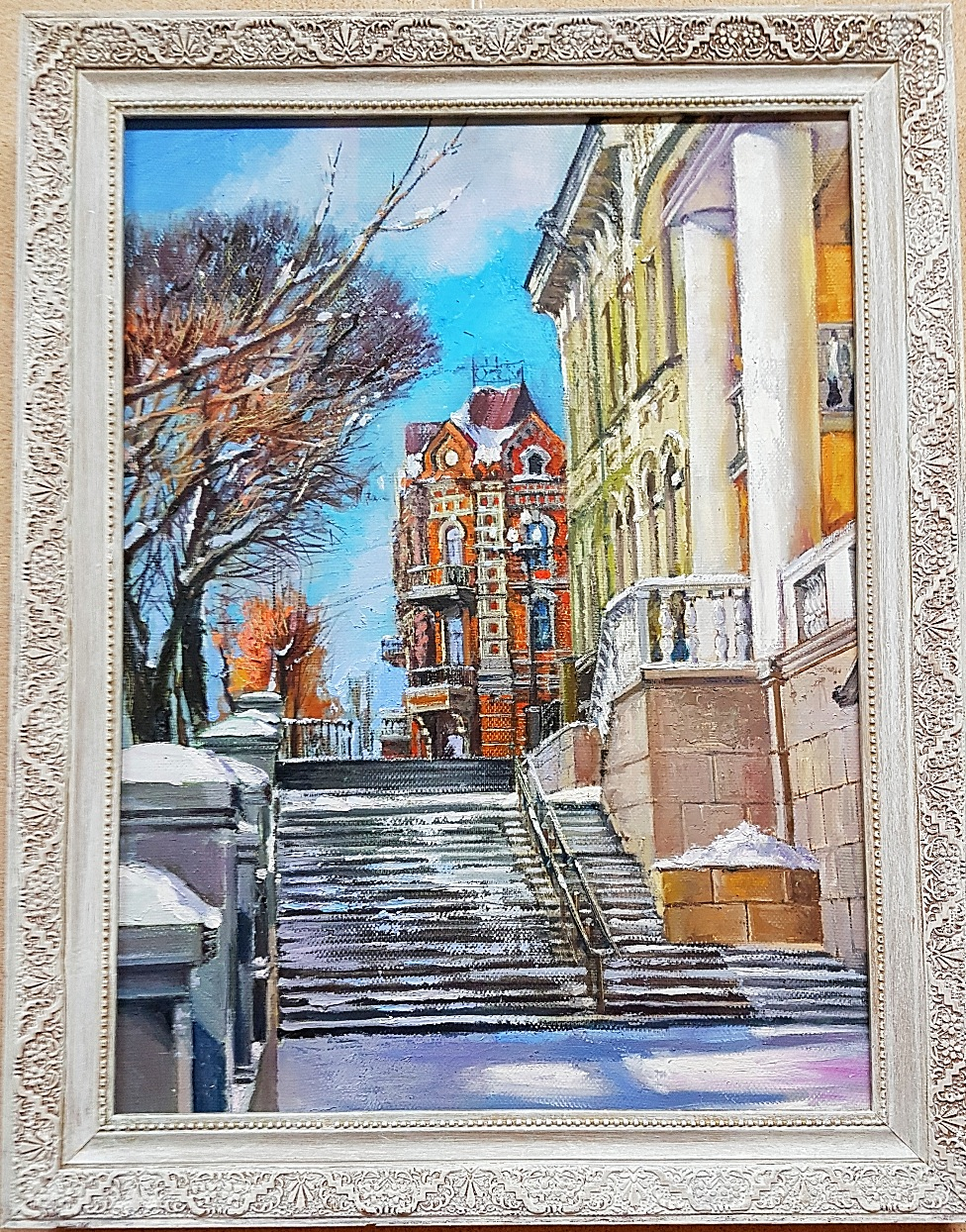 Улица Тургенева. Вид на библиотеку 4
