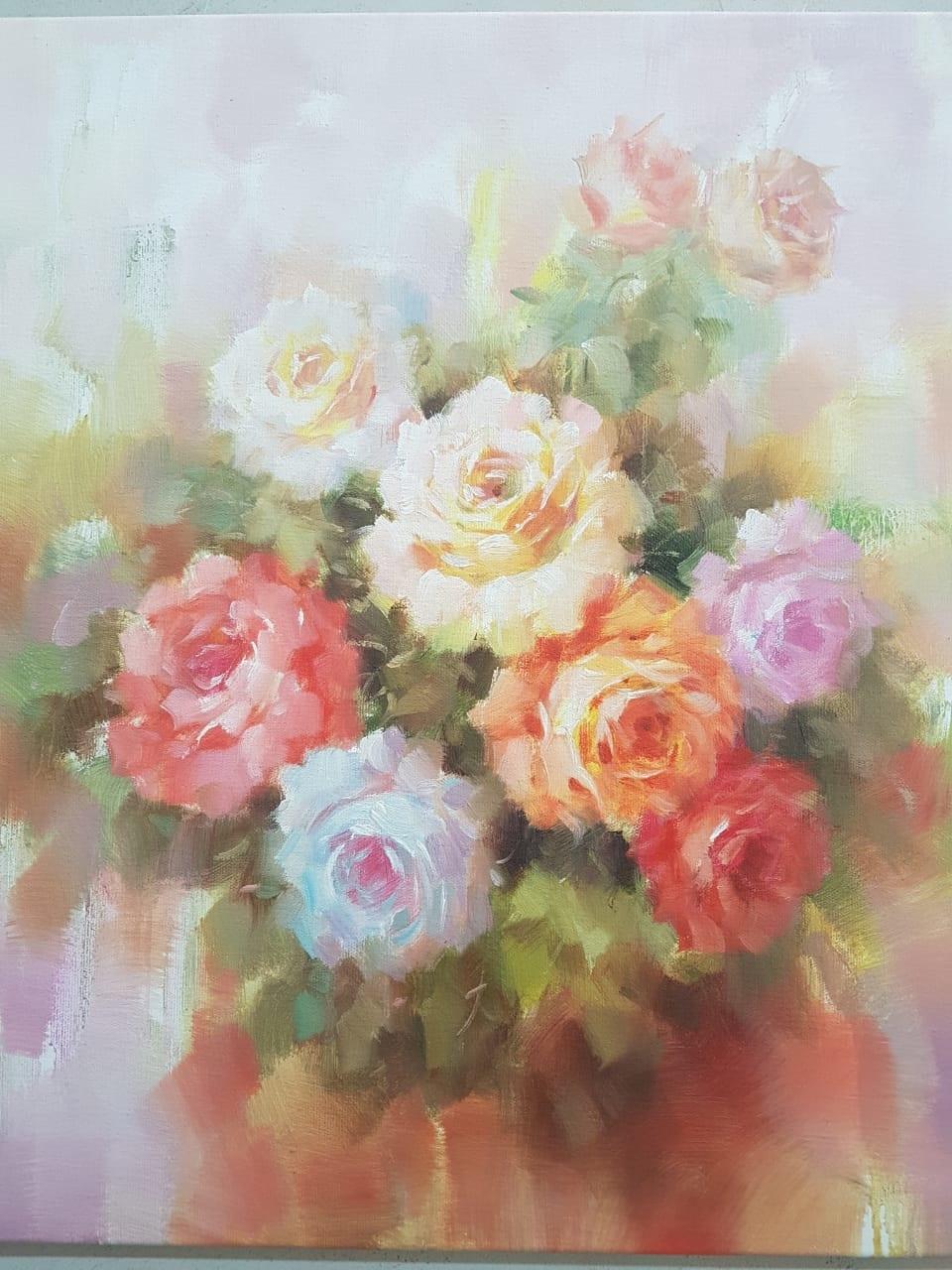 Розы   х.м.  51 х 61   9 000 ₽