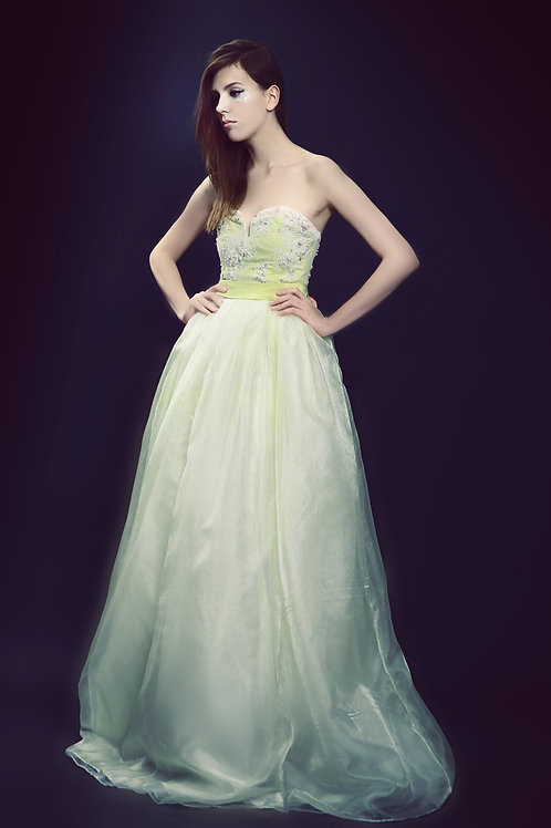 Grass Green Gown