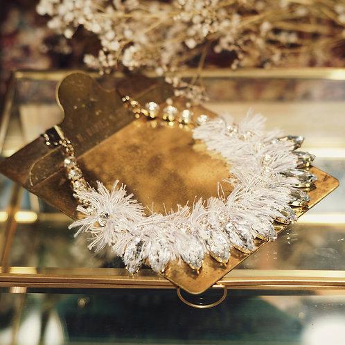 Birdy Silver-tone Crystal Necklace