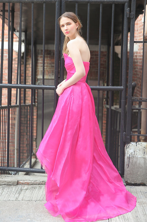 Fuchsia Chic Gown