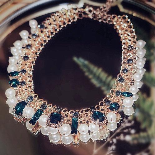 Layered Embellished Necklace