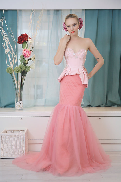 June Bustier Gown