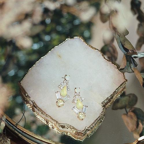 *Yellow Priscilla Earrings