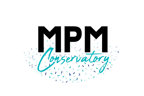 Celebrate stickers and MPM with our MPM Conservatory confetti sticker