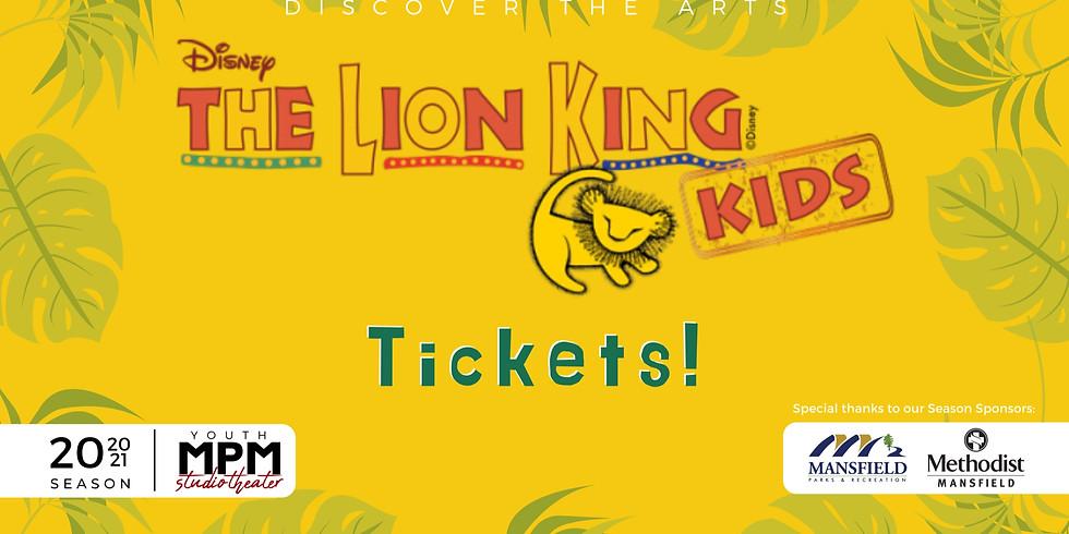 Lion King Kids (08/14) 7:30PM