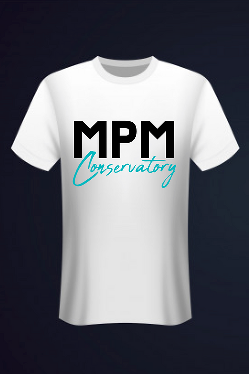 Show your #MPMLove with our MPM Conservatory T-shirt