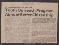 YOUTH OUTREACH PROGRAM (Copy)