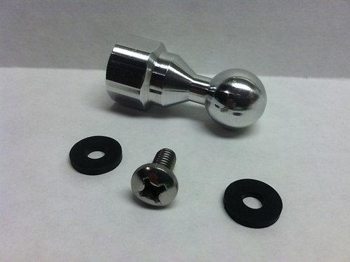 """1"""" Billet Aluminum 17mm Garmin Ball Mount"""