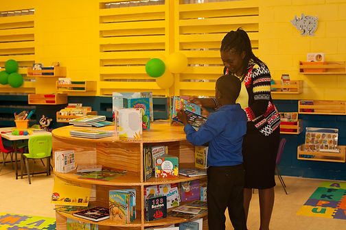 Reading Owls Library, Charton Infant Library, Jamaica