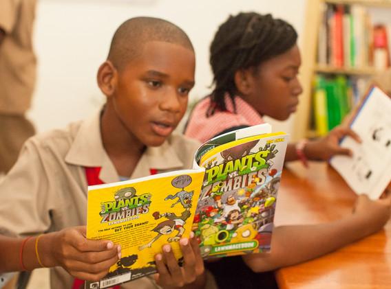 ROI library, Esher Primary, western Jamaica
