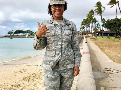 Meet Air Force Major Megan Barrett: the embodiment of service to others