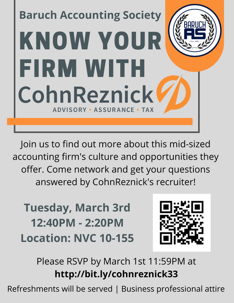 Know Your Firm with CohnReznick