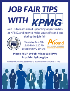 Job Fair Tips with KPMG