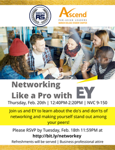 Networking Like a Pro with EY