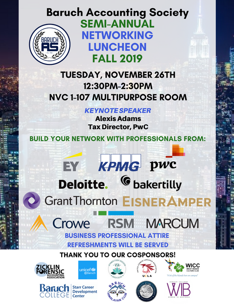 24 Networking Luncheon Flyer Fall 2019.p