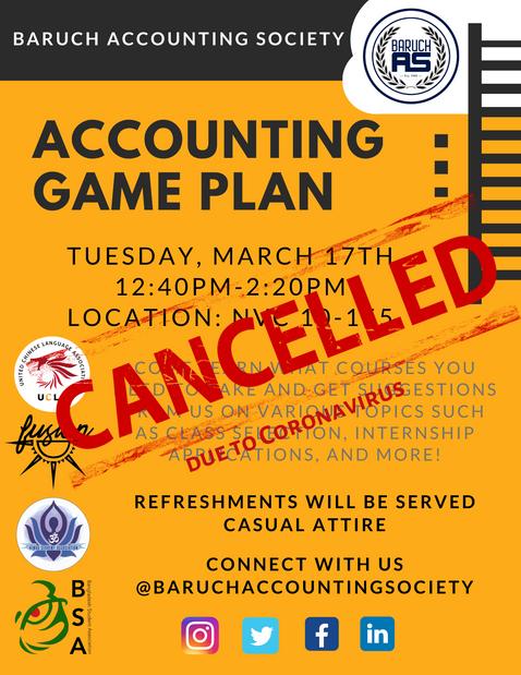 Accounting Game Plan