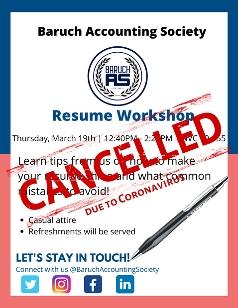 Resume Workshop with UHY