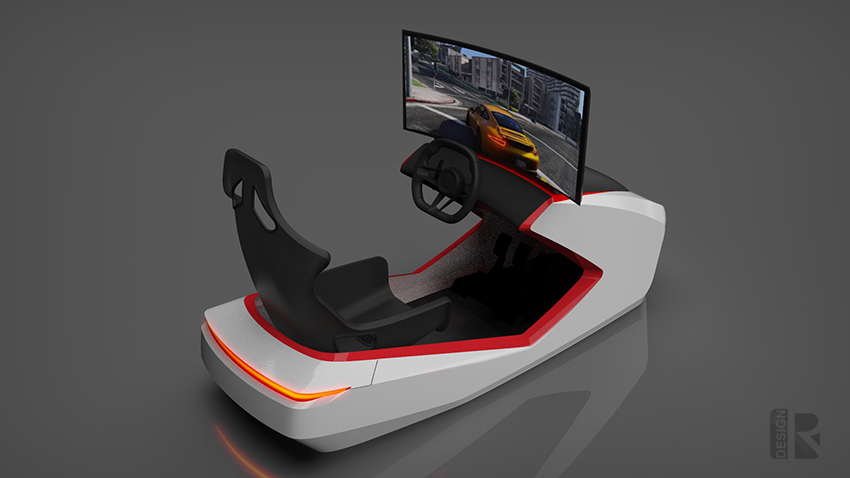 Porsche Simulator 03