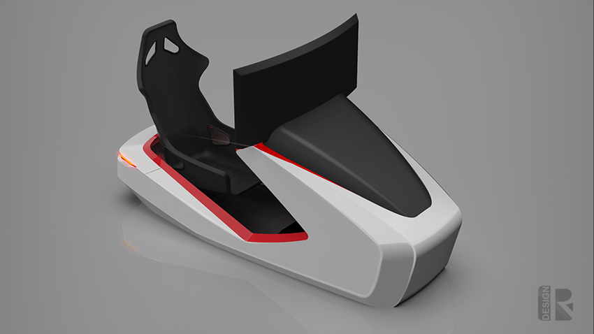 Porsche Simulator 02