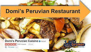 ***SOLD*** Turnkey Peruvian Restaurant in a high traffic area.  Peru has been voted the #1 culinary destination in the world for 6 consecutive years.  This restaurant was established 2013. Known for their amazing...